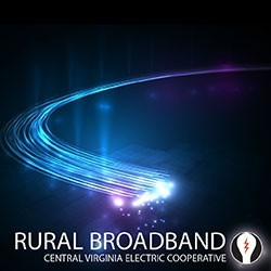 A graphic with the text, Broadband, on the bottom.