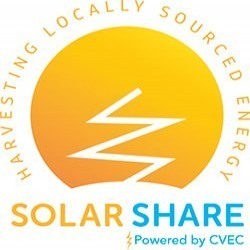 The Community Solar Utility Share logo.