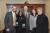 Photo caption (L-R): Galen Creekmore, Gloria Vest, Senator Mark Peake, Melissa Gay, Roberta Harlowe