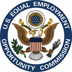 The U.S. Equal Employment Opportunity Commission logo.