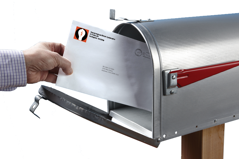 CVEC Mail in mailbox